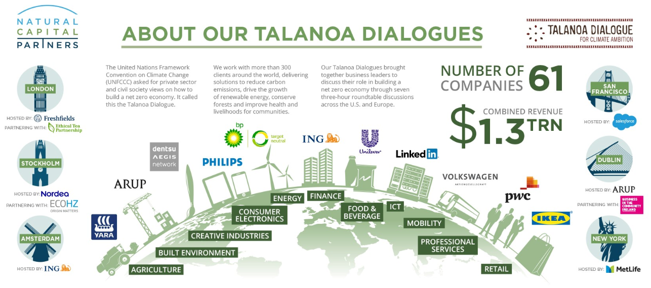 About Natural Capital Partners' Talanoa Dialogue