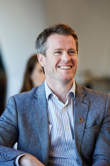 Oliver Crouch - Chief Product Officer