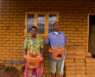 Cookstoves Malawi Stove sales agents posing with stoves
