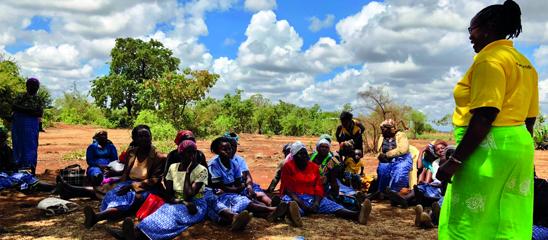 Women as agents of change in African carbon finance projects