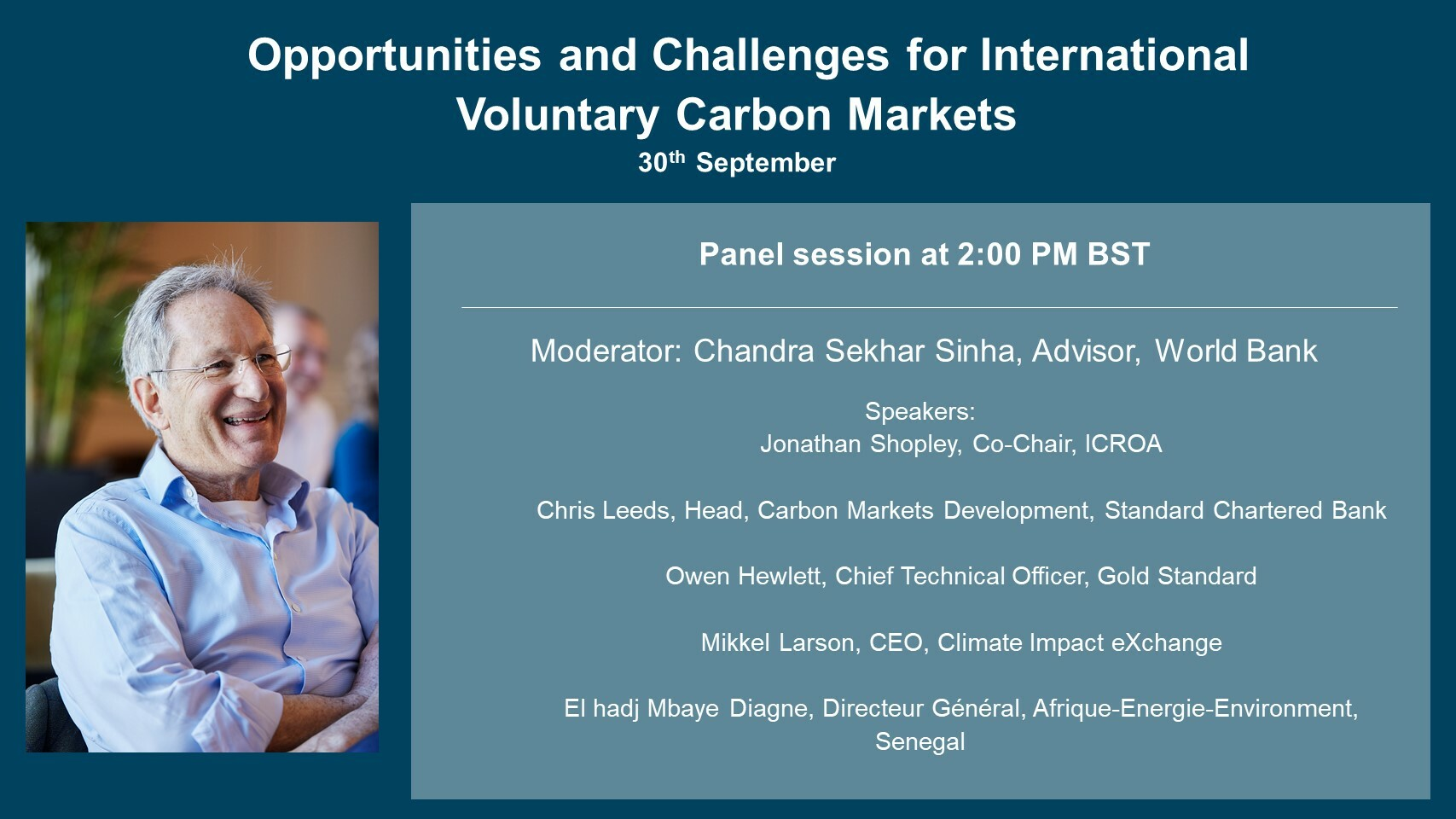 Webinar: How the Voluntary Carbon Market can drive progress by countries