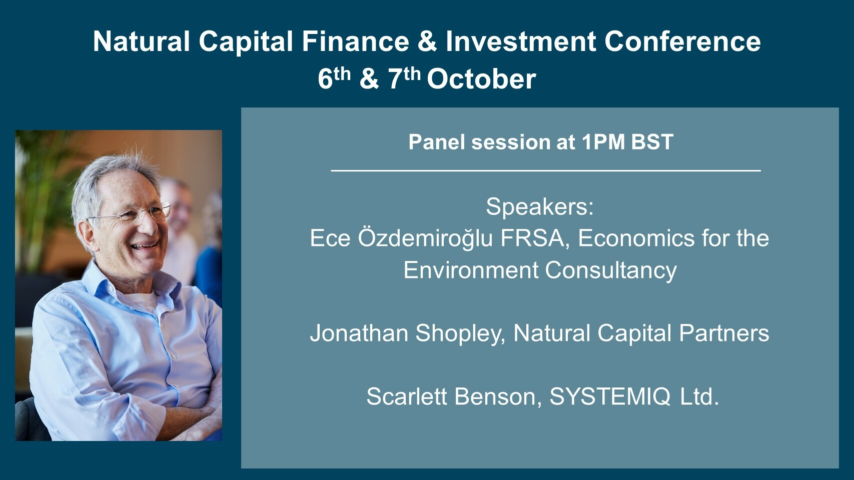 Natural Capital Finance & Investment Conference