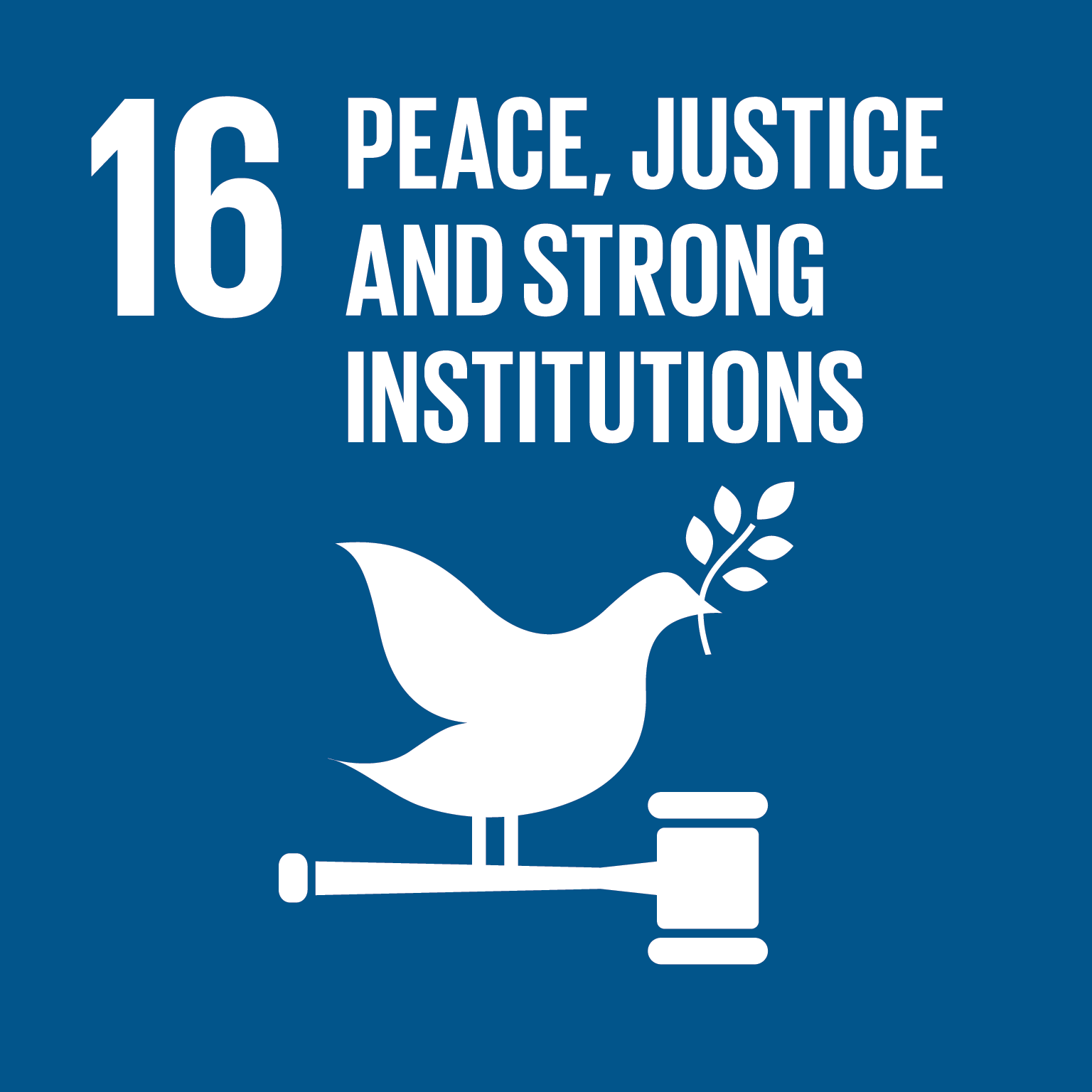 16 - Peace, justice and strong institutions