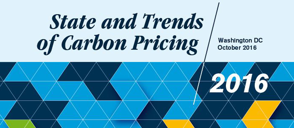 The Role and Uptake of Carbon Pricing
